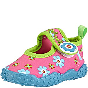 Детская пляжная обувь Playshoes Цветочки